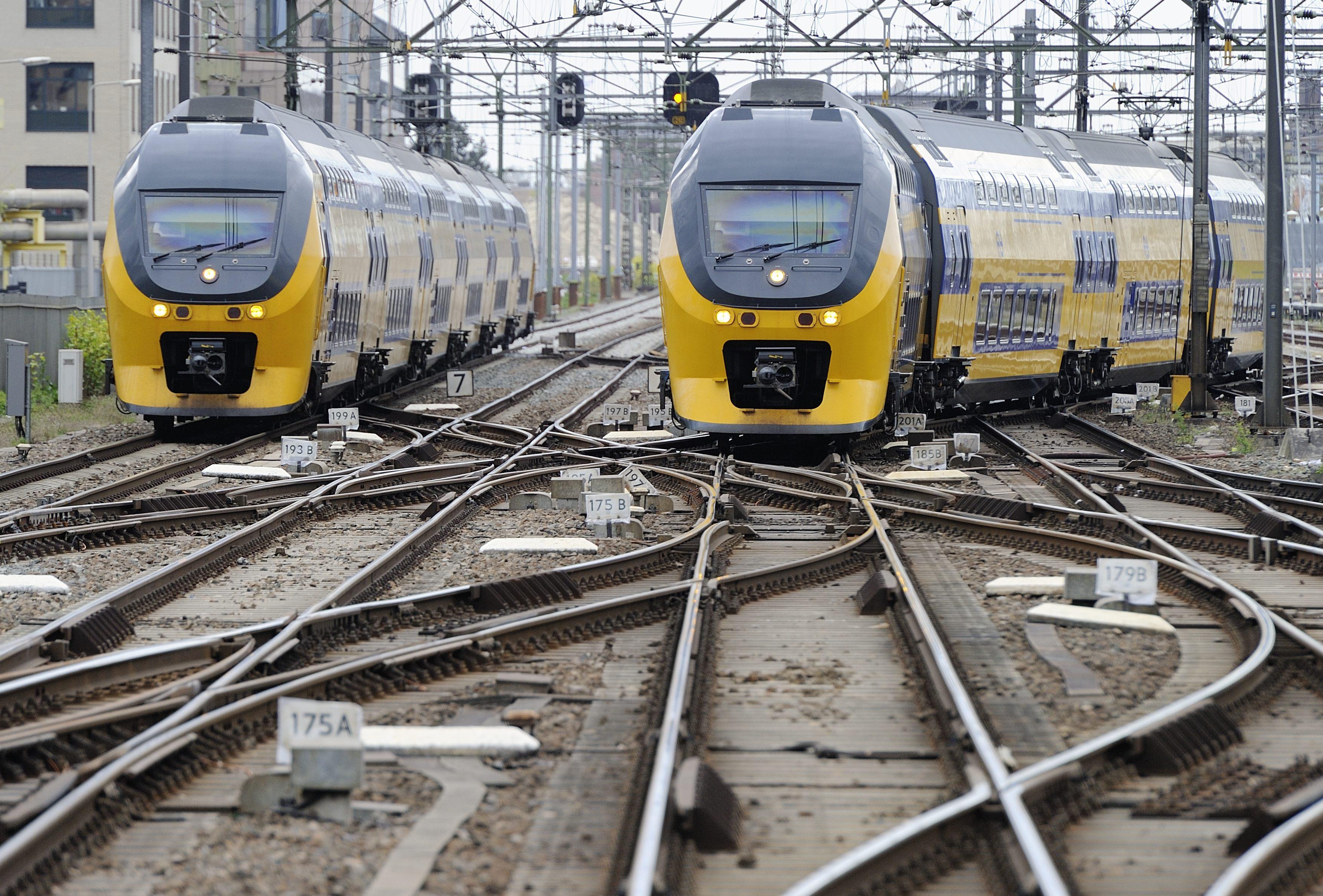 Treinen vanaf vandaag volgens nieuwe dienstregeling