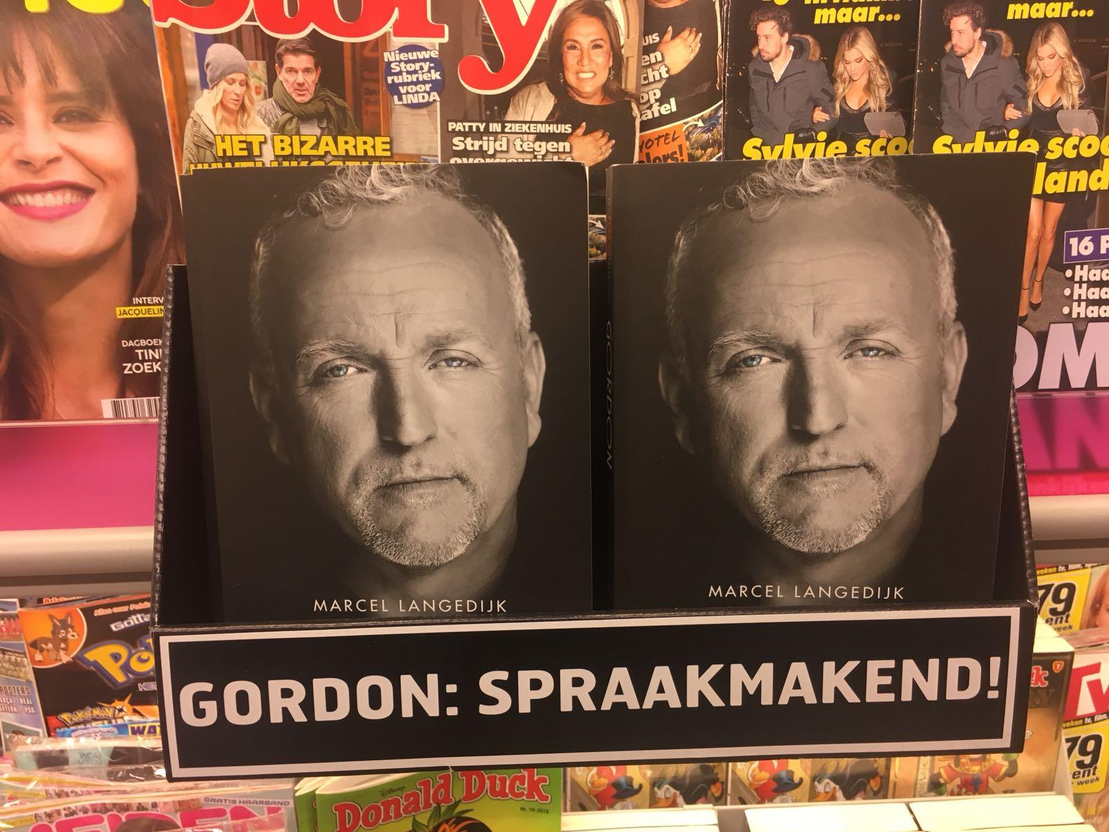 Moet je dat willen, een boek over Gordon?