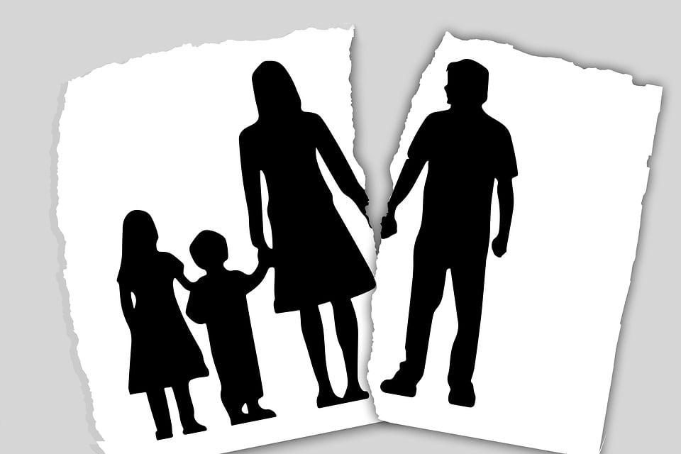 Zie jij als kind van gescheiden ouders je vader nog?