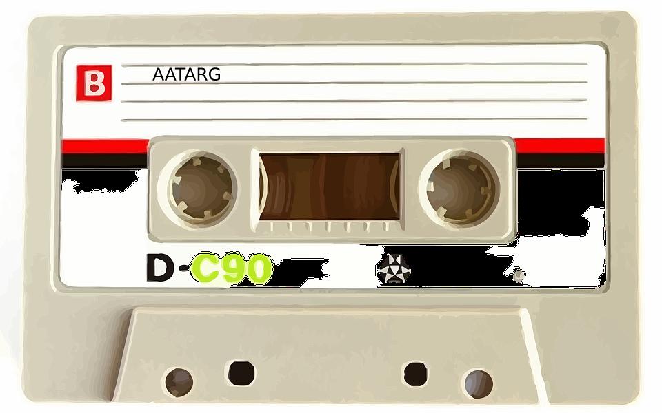 We kopen weer cassettebandjes
